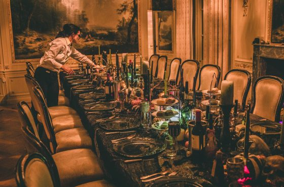 table setting - service